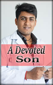 A Devoted Son by Anita Desai book cover