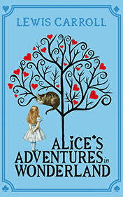 Alice in Wonderland by Lewis Carroll book cover