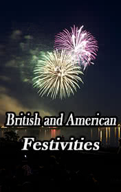 British and American Festivities by Clemen D. B. Gina book cover