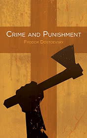 Crime and Punishment by Fyodor Dostoyevsky book cover