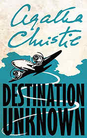 Destination Unknown by Agatha Christie book cover