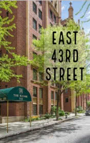 East 43rd Street by Alan Battersby book cover
