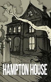 Hampton House by Jenny Dooley book cover