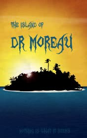 Island of Dr Moreau by H. G. Wells book cover