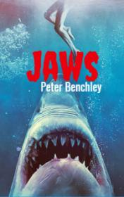 Jaws by Peter Benchley book cover