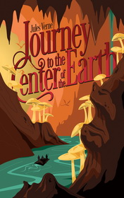 Journey to the Center of the Earth by Jules Verne book cover