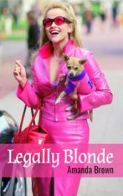 Legally Blonde by Amanda Brown book cover