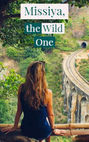Missiya, the Wild One by Vijita Fernando book cover