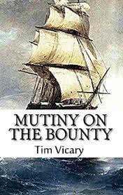Mutiny on the Bounty by Tim Vicary book cover