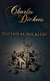 Nicholas Nickleby by Charles Dickens book cover