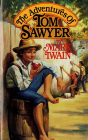 The Adventures of Tom Sawyer by Mark Twain book cover