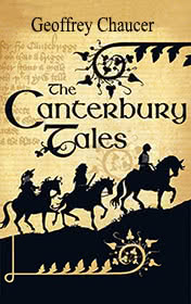 The Canterbury Tales by Geoffrey Chaucer book cover