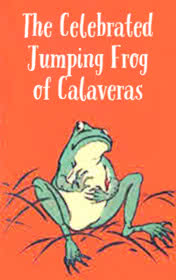 The Celebrated Jumping Frog of Calaveras by Mark Twain book cover