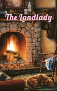 The Landlady by Roald Dahl book cover