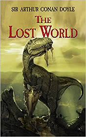 The Lost World by Conan Doyle book cover