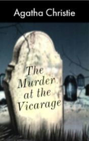 The Murder at the Vicarage by Agatha Christie book cover