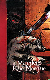 The Murders in the Rue Morgue by Edgar Allan Poe book cover