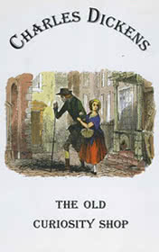 The Old Curiosity Shop by Charles Dickens book cover