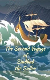 The Second Voyage of Sindbad the Sailor by Victoria Bradshaw book cover