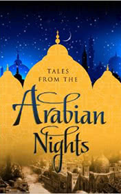 The Tales from the Arabian Nights by Antoine Galland book cover
