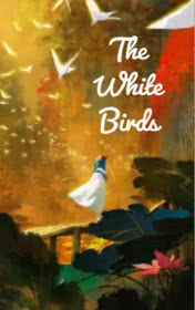 The White Birds by Jane Rollason book cover