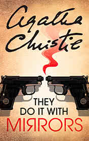They Do It with Mirrors by Agatha Christie book cover