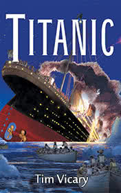 Titanic by Tim Vicary book cover