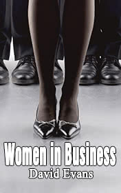 Women in Business by David Evans book cover