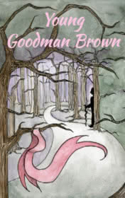 Young Goodman Brown by Nathaniel Hawthorne book cover